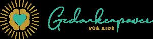 Gedankenpower for Kids Logo in Handschrift